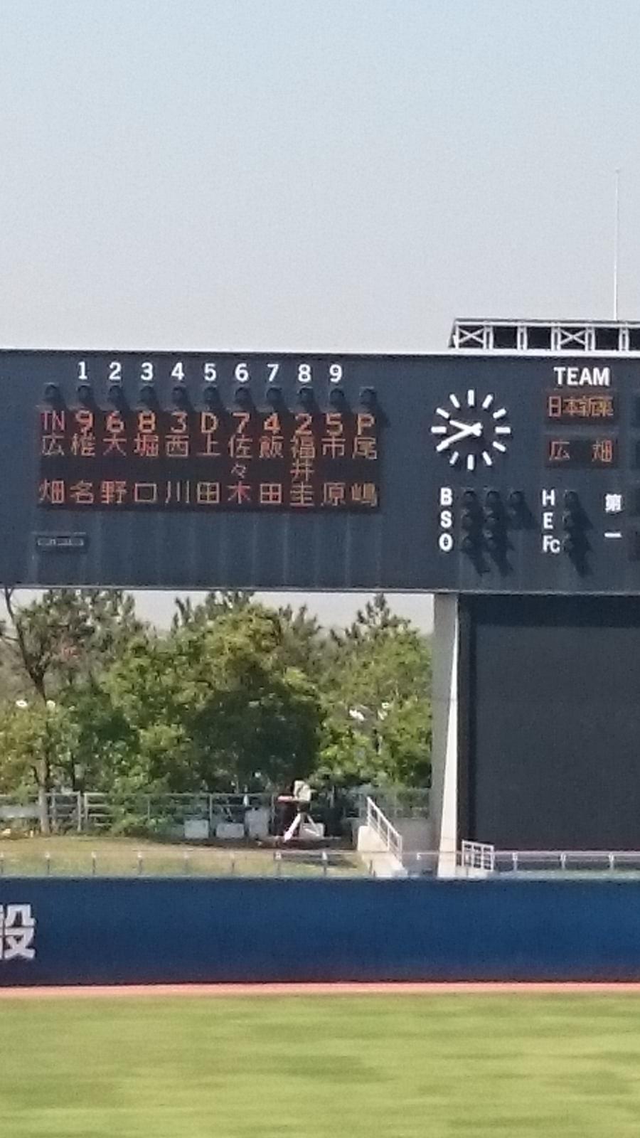 都市 対抗 野球 2019 速報